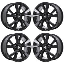 "18"" NISSAN MAXIMA BLACK WHEELS RIMS FACTORY OEM 2017 2018 SET 62721 EXCHANGE"