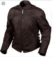 Icon Bombshell Jacket Leather Black Icon Motorcycle Womens Sz S