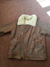 Milan Real leather aviator jacket large