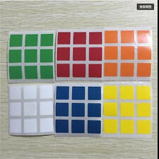 2set High Quality Cube Replacement Stickers 3x3x3 for Rubiks Speed Cube PVC