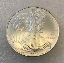 2009 U S MINT UNC AMERICAN  .9993/% SILVER EAGLE DOLLAR   #20R
