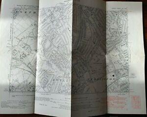 Old Map Surrey 13-SW - Ewell, Cuddington, Cheam, in 1938