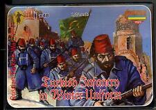 Strelets Models 1/72 TURKISH INFANTRY WINTER UNIFORM Russian-Turkish War Figures