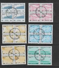 CAMBODIA #1484-1490  1996  DEFINITIVES  MINT  VF NH O.G  CTO bb BLOCKS 4