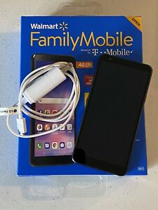 LG JOURNEY LTE (TracFone) WALMART FAMILY MOBILE LGL322DL 32GB BLACK SMART PHONE