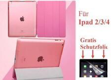 Smartcover Etui iPad 234 ipad4 + Folie iPad2/3/4 ipad2 ipad3 Hülle Tasche Case