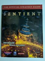 Sentient - PlayStation 1, PS1 - Strategy Guide - Rare - Vintage