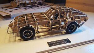 Shelby Cobra Daytona Wood Body 1/12 Exc unique Factory Build by Masta Miniatures
