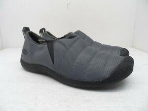 KEEN Men's Howser II Slip On Casual Shoe Slipper Pewter/Black Size 9M