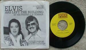 J.D Sumner - Elvis Has Left The Building / Sweet Sweet Spirit + Disclaimer PS 45