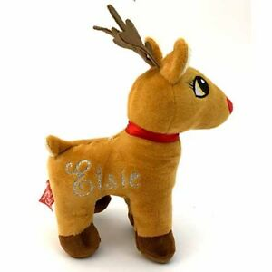 Personalised Plush Reindeer - Add any name to Rudolph