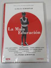 LA MALA EDUCACION DVD PEDRO ALMODOVAR JAVIER CAMARA LLUIS HOMAR NEW NUEVO