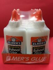 Elmer's School Glue 4 oz. Bottles: Lot of 12 (Brand New, Shrink-Wrapped Package)