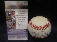Senator Bob Dole Autographed Official American League Baseball - JSA Cert