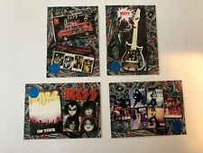 KISS Collectibles Collectors Cards (4 Pack)