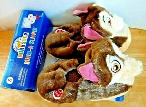 NWT Build A Bear Workshop Paw Patrol Puppy Dog Kid Children Slippers Size Small
