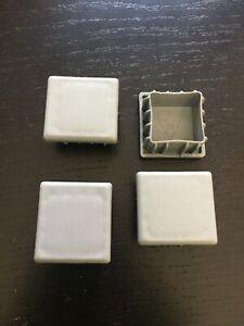 IKEA GALANT DESK Frame End Caps (4 pcs) Gray Color Mint Condition
