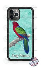 Parakeet Parrot Bird Cute Pet Art Phone Case For iPhone 12 Samsung LG Google 4