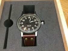 LACO Limited Edition REPLICA GRANDE (55mm) WW2 GERMAN beobachtungsuhr Watch.WO7.
