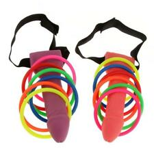 Dick Head Game Willy Ring Toss Heads Hoopla Bride To Be Hen Do Stag Party Gifts