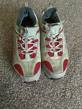 Mbt Unisex Grey/red leather Toning Swiss trainers size 5.5 UK/40 Eur 9.5 Us