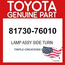 TOYOTA GENUINE 8173076010 LAMP ASSY, SIDE TURN SIGNAL, RH 81730-76010