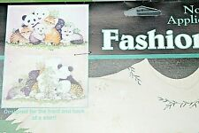 Wild Kingdom No Sew Applique 80193 Baby Animals Carol Bryan Dimensions