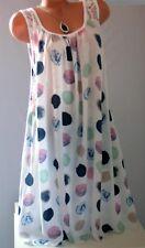 ITALY schöne Sommer Kleid,Strandkleid,Tunika,Spitze,moderne Print,Gr.48,50,52Neu