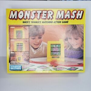 Vintage 1987 Monster Mash Wacky Game by Parker Brothers 100% Complete