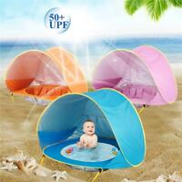 Portable Baby Beach Tent Up Shade Pool anti-UV Protection Sun Shelter for Infant