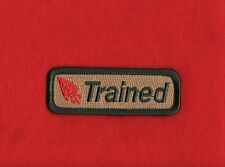 OA TRAINED Order of the Arrow Patch Strip Boy Scout Scouts of America