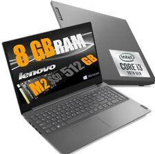 "NOTEBOOK LENOVO 15.6"" Display FHD V15 I3-1005G1 Ram 8GB SSD Nvme 512GB Win10 Pro"