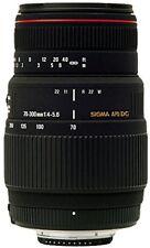 Objectifs téléobjectifs Sigma pour appareil photo et caméscope Canon EF