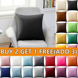 45x45cm Cushion Cover Velvet Sofa Pillowcases Throw Pillow Cases Home Decor!