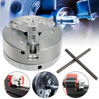 Self-Centering 3 Jaw Lathe Chuck 45mm M12*1 For Mini 6 in 1 Lathe +2x Lock Rods