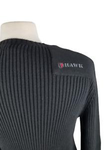 Young men's Tony Hawk commando HK042820-05 Jet black long sleeve sweater size M