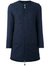 MONCLER  Freesia reversible Navy,100% Down Padded Coat/Jacket/Parca Size 1