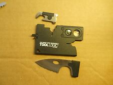 Tool Logic Card Swiss Army style Credit Card tool in black - very handy