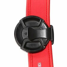 Universal Camera Lens Cap Clip Clamp Holder Strap Keeper S-clip
