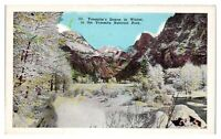 Yosemite's Domes in Winter, Yosemite National Park, CA Postcard *243