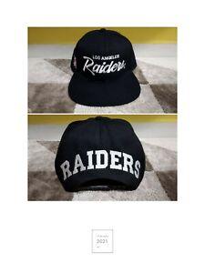 Los Angeles Raiders Blockhead Snapback Cap Hat NWA EAZY E