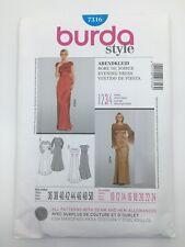 Burda Misses' Dress Pattern 7316 Size 10-24 UNCUT