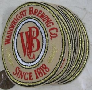 Lot of 10 Wainwright Brewing Co Pittsburgh, PA Beer Patches