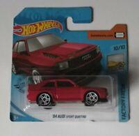 '84 Audi Sport Quattro Hot Wheels 2020 Case H Factory Fresh 10/10 Mattel
