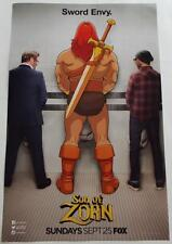 SDCC 2016  EXCLUSIVE   SON OF ZORN  Sword Envy  Poster 11 x 17  Fox