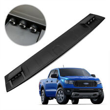 Front Roof Spoiler LED Cover Matte Black For Ford Ranger XLT Wildtrak 2018 2019