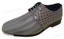 New Mens Dress Shoes Oxford Alligator Lace-Up Tuxedo Fashion Wedding Party Sizes