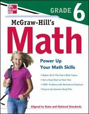 McGraw-Hill Education Math Grade 6, McGraw-Hill Education, Good Book
