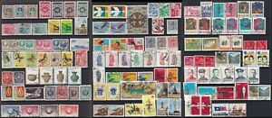 Taiwan Stamp 1955-70s 3 pages of used sets, many sets, most are fine used