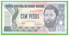 GUINEA - BISSAU - 100 PESOS - 1990 - P-11 - UNC - REAL FOTO